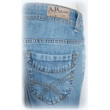 AJC by ARIZONA Baggy Stretch Jeans Hose - bleached blau - Gr. 20/40 - Bild 5