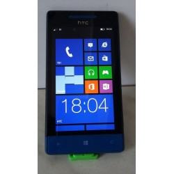 HTC Windows Phone 8S - 4 GB, blau-schwarz, ohne Simlock, Handy, Smartphone
